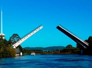 Puente Cau Cau levantará sus tableros este jueves en la tarde