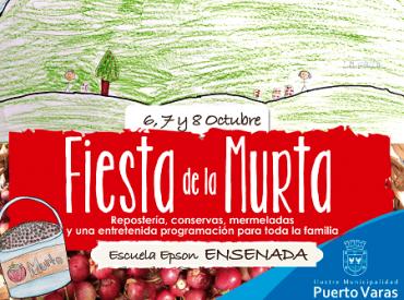 En Puerto Varas invitan a disfrutar de nueva versión de la Fiesta de la Murta en Ensenada