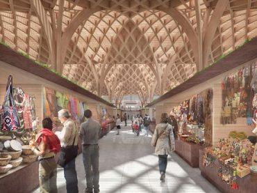 Mercado Municipal de Temuco se reinventa en base a madera