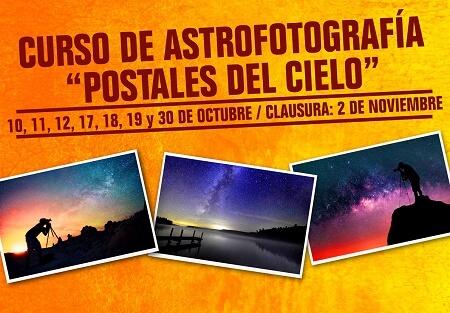 """Curso de astrofotografía """"Postales del cielo"""""""