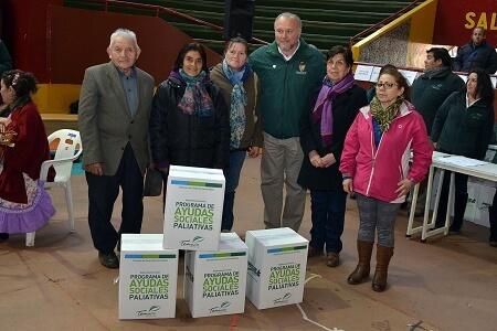 Municipalidad de Temuco entregó ayudas sociales paliativas a 500 familias