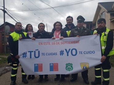 Con plan de contingencia autoridades de la provincia de Chiloé se preparan para enfrentar las festividades dieciocheras
