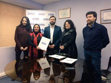 Sernac de Los Ríos y sistema nacional de certificación de la leña firmaron convenio de cooperación