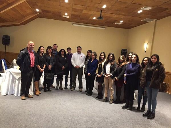 Ministro de Energía Andrés Rebolledo visitó la Región de Aysén