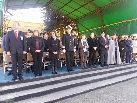 Aysén: con la plaza repleta de gente se efectuó desfile en honor a las Fiestas Patrias y las Glorias del Ejército