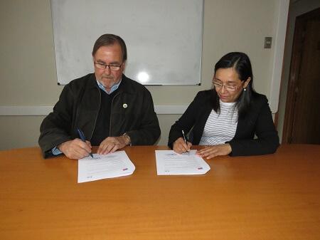 INE y SAG firman convenio de colaboración para el estudio y análisis de movimiento animal en la Región de Los Ríos