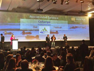 Nodo Coñaripe Sustentable ganó premio FEDETUR por Asociatividad Turística