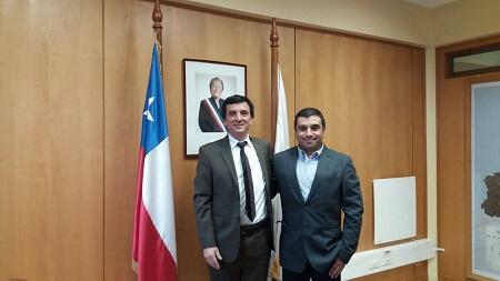 Intendente Ricardo Millán presentó a nuevo director de Conaf Los Ríos