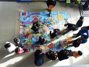 Onemi Aysén capacitó a estudiantes a través del Plan Integral de Seguridad Escolar
