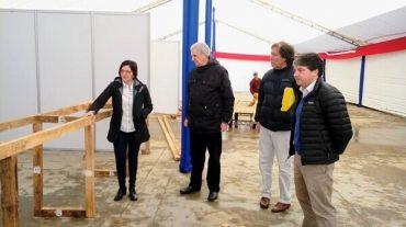 Alcalde Sabat revisó instalaciones en Parque Saval previo a Fiestas Patrias