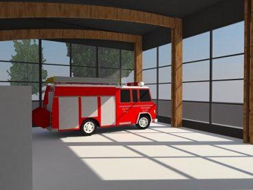 Primer cuartel de Bomberos con madera laminada se construirá en Talcahuano