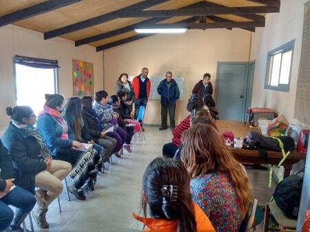 Nuevas oportunidades de desarrollo a vecinos de la Región del Biobío entrega programa de formación y empleo de CONAF