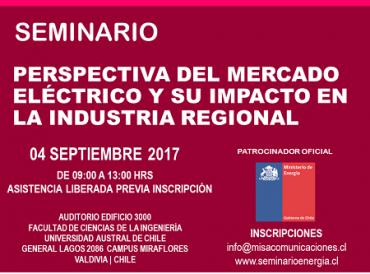 Expertos analizarán el mercado eléctrico y su impacto en la industria regional