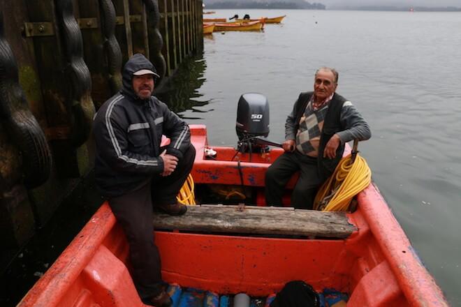 Los pescadores artesanales del puerto más antiguo de Chile