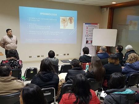 Realizan jornada de estrategia sanitaria ante incremento de casos de accidentes vasculares en Chiloé