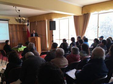 Comités de APR de la provincia del Ranco participaron en taller de difusión de nueva ley