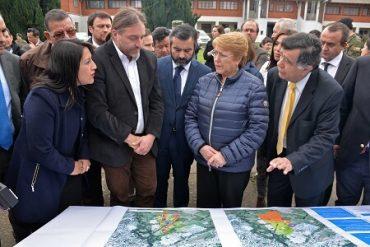Presidenta Bachelet visita la Región de Los Lagos para presentar iniciativas de gran relevancia