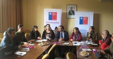 """En Los Ríos, autoridades regionales lanzan campaña anual de prevención de violencia contra las mujeres: """"Contra la violencia, te apoyamos"""""""