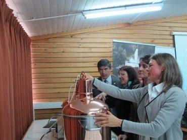 Inauguran cervecería experimental importada desde Alemania en Valdivia