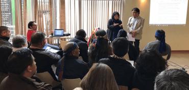 Con activa participación de las comunidades se inició la última etapa de la Consulta Indígena para el Proceso Constituyente