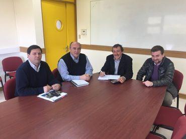 Consejero Villarroel se impuso de avances para iniciar carrera de Construcción Civil en Campus UACh Coyhaique