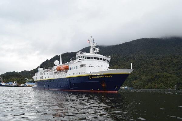 SAG inspeccionó primer Crucero de la temporada en Puerto Chacabuco