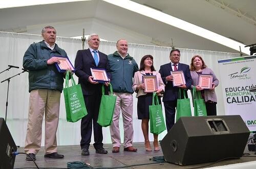 Municipio de Temuco celebra a los profesores en su día