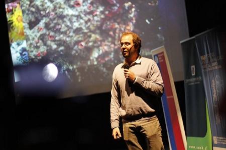 Dr. Pablo Saenz de la UACh inauguró en Aysén el XII Congreso Regional Escolar de Ciencia y Tecnología del Par Explora Aysén