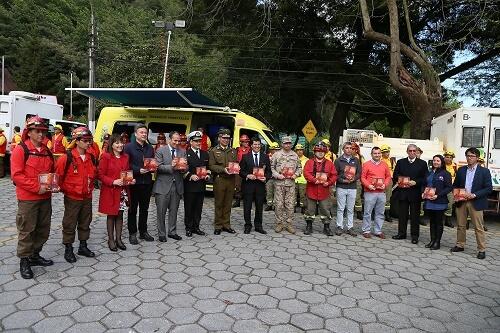 Intendente del Biobío presentó estrategia contra incendios forestales para el próximo verano
