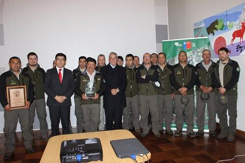 CONAF destacó a los guardaparques de las siete áreas silvestres de la región en su Día Nacional