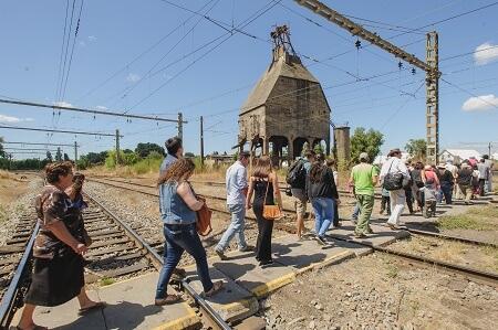 Hoteleros de todo Chile finalizan congreso en Concepción con viaje en tren turístico Corto Laja
