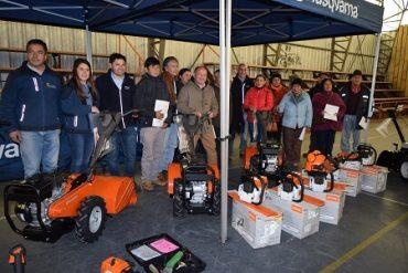 Maquinaria agrícola mejora economía familiar en sectores cordilleranos de Panguipulli