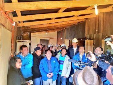 Isla Huapi se prepara para tener electricidad por primera vez a través del sol