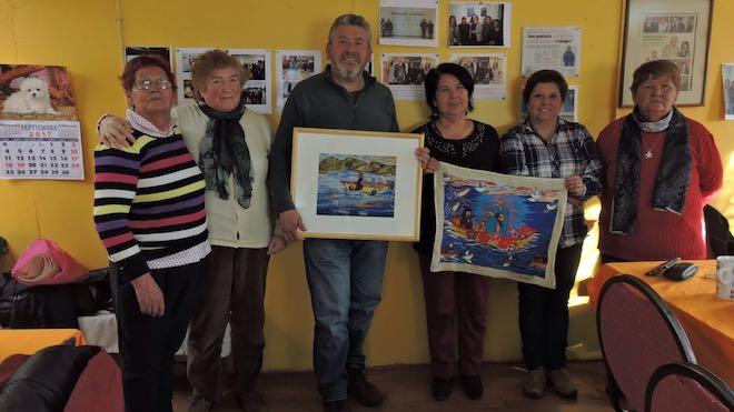 Marco Ide se reúne con artesanas de la costa para apoyar la difusión social del oficio de las mujeres