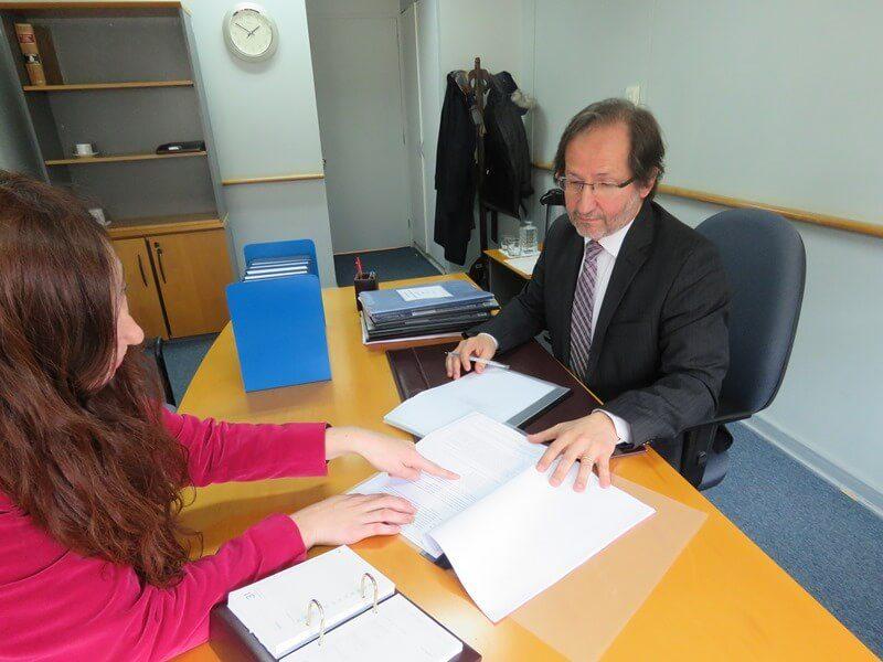 Ministro Álvaro Mesa realiza diligencias en Valdivia en el marco de casos por violaciones a los DDHH