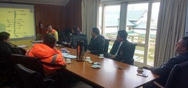 """Comité Provincial de Protección Civil y Emergencias: Gobernación del Ranco y ONEMI coordinan simulacro regional de Terremoto y Tsunami """"Borde Costero"""" del 12 de Octubre"""