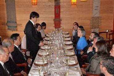 Intendente de Los Lagos ofrece almuerzo oficial a príncipes de Japón