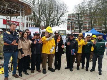 Gobierno en Los Ríos lanzó el Plan Regional de Prevención de Incendios Forestales