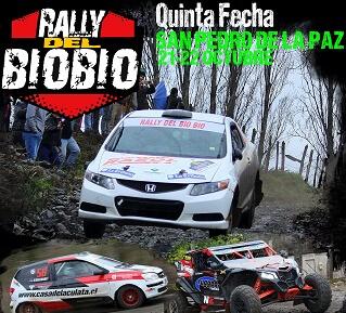 San Pedro de la Paz será sede de la 5ª fecha del Rally del Biobío