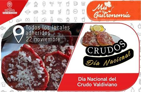 """Mañana se celebrará primera versión del """"Día Nacional del Crudo Valdiviano"""""""