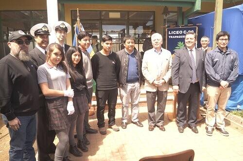 Liceo c-90 Trapaqueante de Tirúa recibió estación meteorológica automática