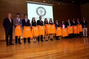 San Sebastián Valdivia presentó a nueva Federación de Estudiantes