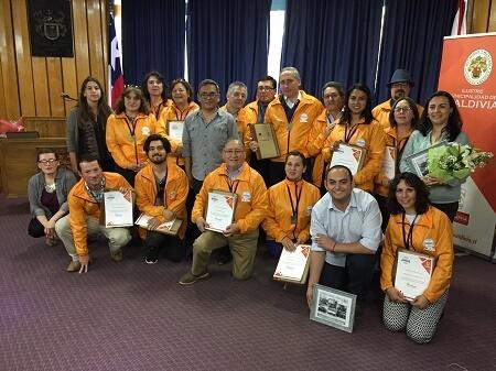 Municipalidad certificó a 25 guías patrimoniales para difundir patrimonio histórico y cultural de Valdivia