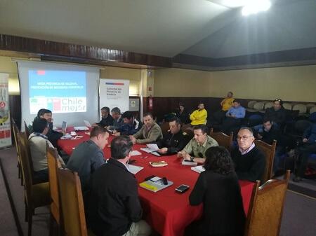 Mesa Provincial para prevención de incendios forestales avanza en acciones para enfrentar temporada estival