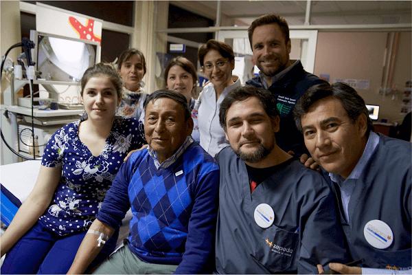 Exitoso operativo solidario termina con lista de espera prolongada de endoscopía en Nueva Imperial: resultados serán presentados en el Congreso Chileno de Gastroenterología