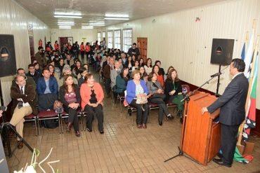 Comuna de Paillaco: UACh firmó convenio con escuela Roberto Ojeda de Reumén
