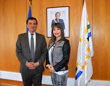 Intendente Ricardo Millán Presentó a la Primera Seremi del Ministerio de la Mujer y la Equidad de Género en Los Ríos
