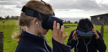 Nómada 360°: proyecto escolar de realidad virtual llega a Chiloé