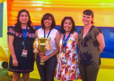 Estudiantes valdivianas representarán a Chile en feria científica de Intel