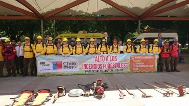 """""""Alto al Fuego… De ti depende prevenirlos"""": realizan lanzamiento comunal de la campaña de Prevención de Incendios Forestales en La Unión"""